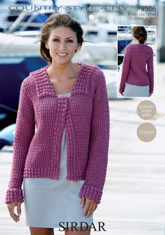 Jacket in Sirdar Country Style 4 Ply - 9506 - Downloadable PDF. Discover more patterns by Sirdar at LoveKnitting. The world's largest range of knitting supplies - we stock patterns, yarn, needles and books from all of your favourite brands.