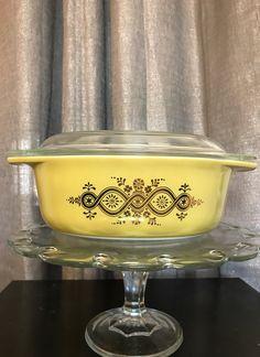 SOLD  Pyrex Promo Golden Bouquet Casserole 043 - Mercari:  Look at my similar items