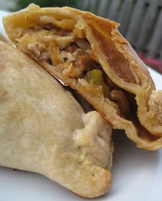 Chicken, Olive, & Chorizo Empanadas.  Made it & family loved it.  I made my own filling.  Great crust recipe.  Keeper