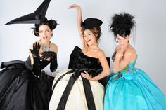 Melissa Mars, Maeva Méline & Claire Pérot © Newscom #dress Mozart l'Opera Rock (french musical)