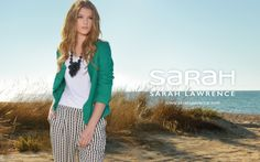 Sarah Lawrence Ad Campaign - Spring Summer 2014