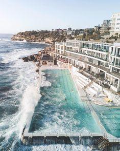 the Bondi Beach Icebergs Club - one of the must-dos in Sydney, Australia.