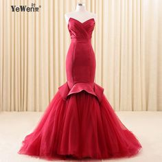 black Royal blue burgundy red celebrity mermaid evening dress prom dresses 2017 long party african formal dress robe de soiree -in Evening Dresses from Weddings & Events on Aliexpress.com | Alibaba Group