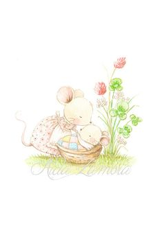 ideas baby sleep drawing sweets for 2019 Pictures To Draw, Drawing Pictures, Cute Drawings, Animal Drawings, Good Night Baby, Sleeping Drawing, Image Deco, Baby Mouse, Watercolor Paintings