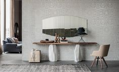 Rapa Nui Console Table by Cattelan Italia