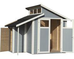 Gartenhaus Aktiva mit Schleppdach Gartenhaus mit
