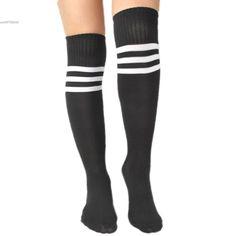 High Elasticity Girl Cotton Knee High Socks Uniform Sea Lions Women Tube Socks