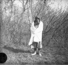 Irene Not Afraid (the husband of Carson Yellowtail) - Crow - circa 1910