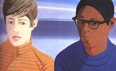 alex katz art | The Alex Katz painting Vincent and Tony was one that I always admired