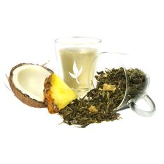 Coconut Euphoria Tea. 0.5 oz. - $6.99. This new blend is excellent at helping beautify skin and detoxify the body. An exotic blend of white tea, pineapple, and sweet coconut pieces is the perfect escape for the busy person.