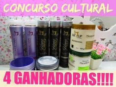 CONCURSO CULTURAL 4 GANHADORAS!