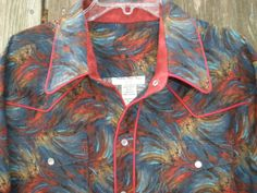 Mens Western Long Sleeve Shirt  S/M/L/XL by NaturalCutiesbyLinda, $135.00