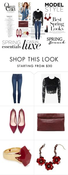 """Untitled #74"" by esma10 ❤ liked on Polyvore featuring beauty, H&M, KAROLINA, Paige Denim, Bec & Bridge, Zara, Marie Turnor, Lola Rose, Bebe and NARS Cosmetics"