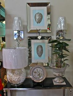 Pictures and table accessories
