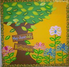 Bulletin board - spring