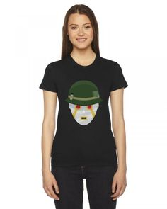terrible soldiers funny Ladies Fitted T-Shirt
