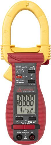 Amprobe Acd-16 Trms-Pro 1000A Data Logging Clamp Meter With Temperature, 2015 Amazon Top Rated Temperature Sensors #HomeImprovement