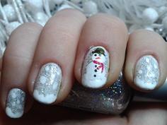 Kerst nagels :)