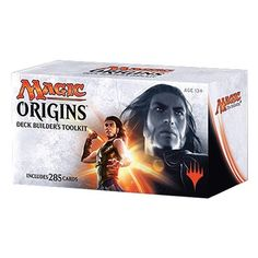 MTG Magic the Gathering Origins Deck Builders Toolkit - Building a new deck is an important part of the Magic: The Gathering player experience, and our Magic Origins Deck Builder's Toolkit gives players everything they need to build multiple decks!