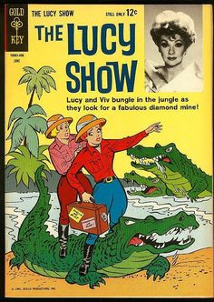 "1964 ""The Lucy Show"" Comic Book"