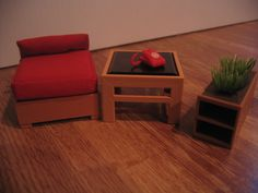 dollhouse furniture 1970's tomy japan family / living room | eBay