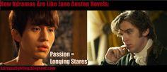 How Kdramas Are Like Jane Austen Novels #kdramafighting