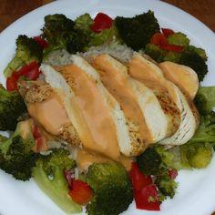 Rezept Hähnchenbrust mit Brokkoli, Paprika und Reis - all in one von Maxismutti - Rezept der Kategorie Hauptgerichte mit Fleisch
