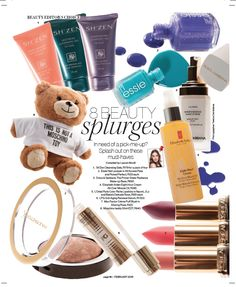 Another fab feature in Destiny Magazine- February February 2016, Essie, Destiny, Moschino, Zen, Magazine, Beauty, Magazines, Beauty Illustration