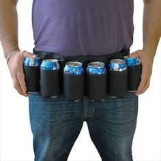 BEER BELT - 6 Pack Holster - Perfect for boyfriends, husbands and Dads!  $9.95