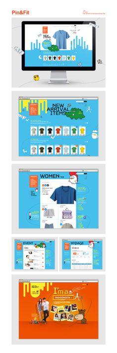 [Pin&Fit - Alternative] 2011 여름, 대한민국은 새로운 빈티지를 입는다. 라는 컨셉으로 제작된 온라인 쇼핑몰 사이트로서 빈티지 패션을 선두하는 PIN&FIT 브랜드의 가치와 다양한 제품들을 표현할 수 있는 사이트로 제작되었습니다. 니팩에서 2011년 여름 출시한 PIN & FIT 브랜드 쇼핑몰 사이트는 물론 프로모션 진행을 위한 마이크로 사이트를 제작하여 효율적인 마케팅 효과를 얻을 수 있었습니다. - July 21 . 2011