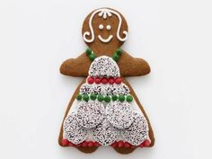 Get ideas for decorating gingerbread men and women from Food Network Magazine.