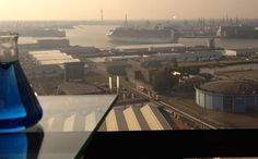 Friday morning view from LabHotel Rotterdam