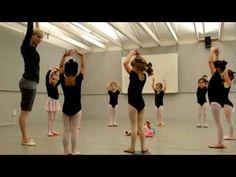 Pre Ballet class at Shadelands Art Center, Walnut Creek