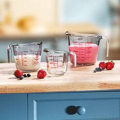 Anchor Hocking 3-Piece Measuring Cup Set