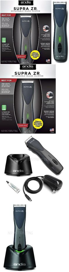 Clippers and Trimmers: Andis Supra Zr Cordless Lithium Ion Detachable Clipper #79000, 5 Speeds -> BUY IT NOW ONLY: $198.98 on eBay!