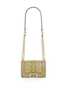 Mini Quilted Love Crossbody Bag - SaksOff5th