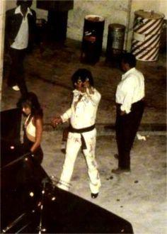 Elvis and Sheila Ryan [Caan] -   Las Vegas,    September 1974