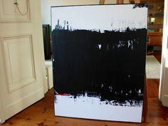 Acrylmalerei - Abstrakte Kunst auf Leinwand 80cm x 100cm - ein Designerstück von simeART bei DaWanda
