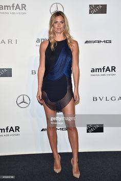Bar Refaeli attends amfAR Milano 2014 during Milan Fashion Week Womenswear Spring/Summer 2015 on September 20, 2014 in Milan, Italy.