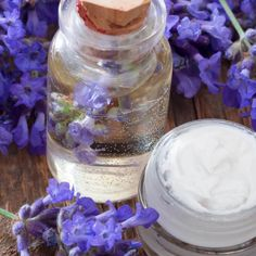 Homemade Lotion with Frankincense, Lavender