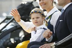 King Carl Gustaf and Queen Silvia, Crown Princess Victoria, Prince Daniel and Princess Estelle, Princess Madeleine, Prince Carl Philip and Princess Sofia of Sweden attends the Swedish National Day Celebrations 2016 at the Skansen open-air museum on June 6, 2016 in Stockholm, Sweden.