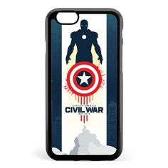 Civil War Poster Apple iPhone 6 / iPhone 6s Case Cover ISVG475