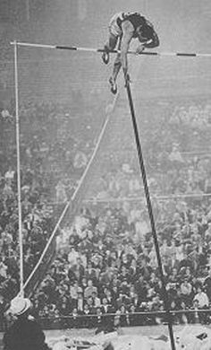 Fred Hansen of USA set a world record in pole vault in 1964 and took the gold… Olympic Games Sports, Olympic Athletes, Olympic Gymnastics, 2020 Olympics, Tokyo Olympics, Summer Olympics, Gymnastics Quotes, Pole Vault, Jordyn Wieber