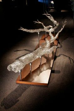 MARTIN BLANK Crystal Skin is an exploration capturing a forests essence. Inspired by sturdy unfettering vertical giants.