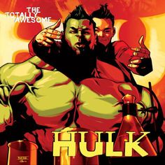 """Totally Awesome Hulk 1"" variant cover by Mahmud Asrar"