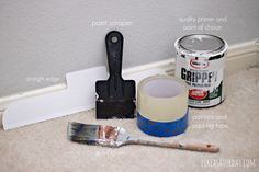 how to paint floor tiles in a kitchen how to paint trim a complete tutorial for transforming an 9807