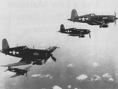 Marine Corsairs over the Pacific. Hunting Japs.