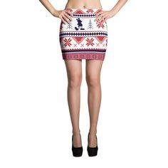Ugly Mini Skirt for Christmas.