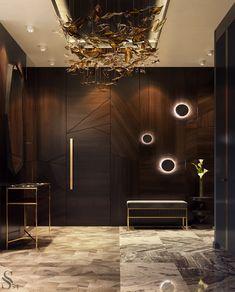17 New Ideas Hotel Room Door Design Hallways Room Door Design, Main Door Design, Foyer Design, Lobby Design, Entrance Design, Wall Design, House Design, Lobby Interior, Luxury Homes Interior