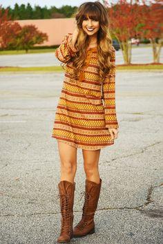I Fall To Pieces Dress: Multi #shophopes